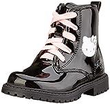 Hello Kitty Mädchen HK BASILA Combat Boots, Schwarz (Black (8), 27 EU