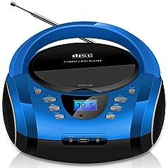 Tragbare Boombox CD CD-R