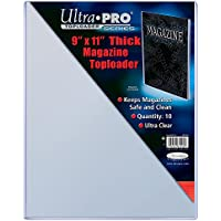 Ultra Pro 9 X 11-1/4 Thick Magazine Toploader 10ct by Ultra Pro