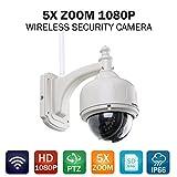 SANNCE 1080P IP Cámara 5X ZOOM de Vigilancia - Best Reviews Guide