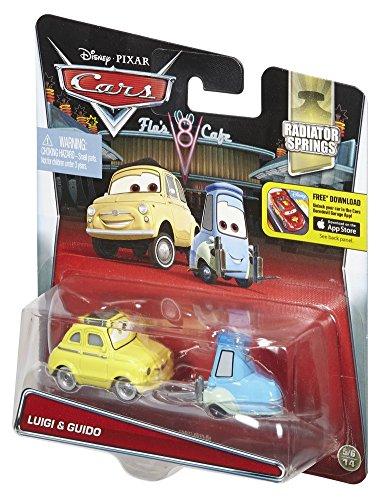 Image of Disney Pixar Cars Diecast Luigi and Guido