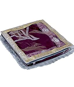 Saree packing cover tissue with designer frill