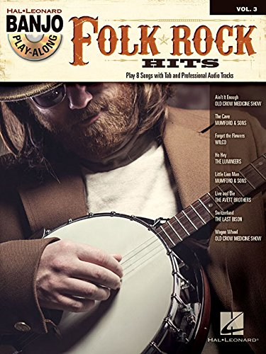 Banjo Play Along Volume 3: Folk Rock Hits: Noten, CD, Play-Along für Banjo
