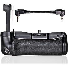FOSITAN BG-1X Batterie de batterie verticale batterie pour Canon EOS 800D / Rebel T7i / 77D / Kiss X9i Travailler avec 1 ou 2 batteries LP-E17