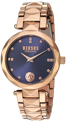 Versus-by-Versace-Womens-COVENT-GARDEN-Quartz-Stainless-Steel-Casual-Watch-ColorRose-Gold-Toned-Model-SCD130016