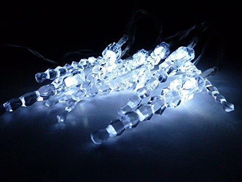zapfen LED-Weihnachtsbeleuchtung LED-Dekoleuchte 10xLED batteriebetrieben LED-Fensterdekoration LED-Tischdekoration (LED-kaltweiß) (Beleuchtete Fensterdekoration Für Halloween)