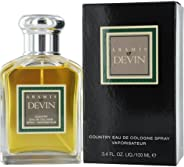Aramis Devin - perfume for men, 100 ml - EDC Spray (Gentlemans Collection)