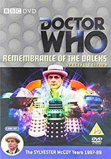 Doctor Who - Remembrance Of The Daleks - Special Edition [DVD] (B002ATVD9Q) | Amazon price tracker / tracking, Amazon price history charts, Amazon price watches, Amazon price drop alerts