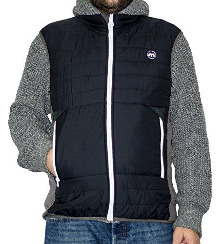 Mistral - Manteau sans manche - Homme noir/gris