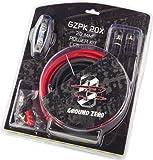 Kit Cavi Ground Zero Positivo 20 mm rca per Installazione Amplificatori 5mt alimentazione + massa 4 WWG rca portafusibile GZPK 20X