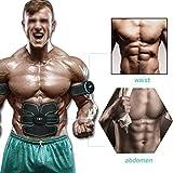 [neue Version 2017] Professional EMS Bauch Muskelaufbau Gürtel Home Fitness Training Gear, Vibration Pads für Männer und Frauen zu Tone, Gewichtsverlust, Trimmer, schlank, former, Strong