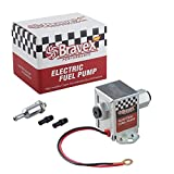 Picture Of Bravex 12V Universal Electric Fuel Pump Metal for Petrol & Diesel Standard EP12S (2.5-4 PSI)