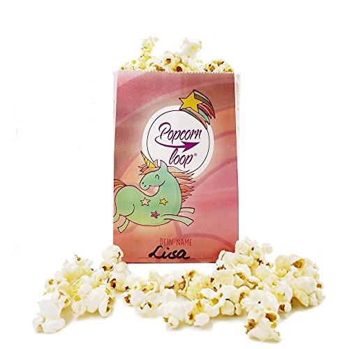 (popcornloop Die Original Papier Popcorntüten Im Einhorn Design 4 x 15er Packungen Insgesamt 60 Stück Kindergeburstag Mädelsabend)