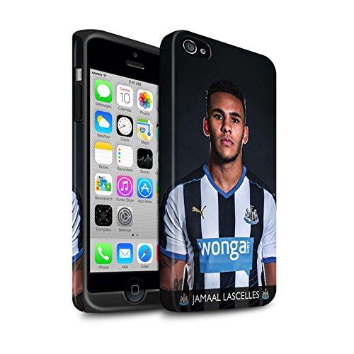 Officiel Newcastle United FC Coque / Matte Robuste Antichoc Etui pour Apple iPhone 4/4S / Pack 25pcs Design / NUFC Joueur Football 15/16 Collection Lascelles