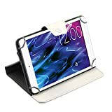 Tablet Tasche für Medion Lifetab P8514 P8314 P8312 P8311 S8312 S8311 Hülle Case , Farben:Weiß