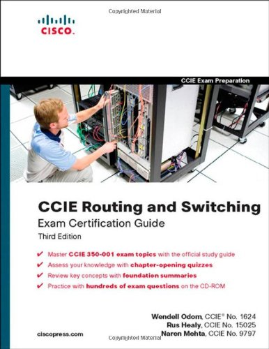 CCIE Routing and Switching Exam Certification Guide por Wendell Odom