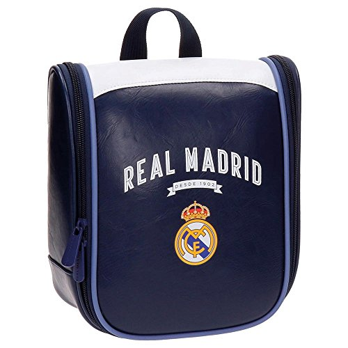 Real Madrid-4974551 Neceser, Color Azul, 22 cm (Joumma 49745)