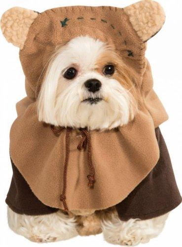 Faerynicethings Classic Star Wars Ewok Pet Kostüm–4Größen, Small, Mehrfarbig