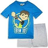 Offizielle Lizenzierte Ben 10 Kinder Kurze Pyjamas 3 bis 8 Jahre (Blau , 3 Jahre)
