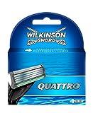 Wilkinson Lame Quattro Plus - Confezione 4 Pezzi
