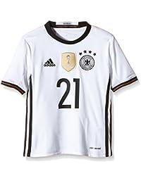 Adidas - Camiseta Infantil de la selección Alemana con el Nombre de Gündogan, Infantil,