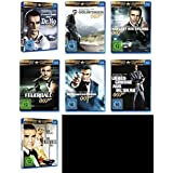 James Bond 007 SEAN CONNERY komplette Edition 7 BLU-RAY Collection -- > JAGT DR. NO * GOLDFINGER * MAN LEBT NUR ZWEIMAL * FEUERBALL * DIAMANTENFIEBER * LIEBESGRÜßE AUS MOSKAU * SAG NIEMALS NIE
