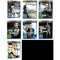 James Bond 007 SEAN CONNERY komplette Edition 7 BLU-RAY Collection -- > JAGT DR. NO * GOLDFINGER * MAN LEBT NUR ZWEIMAL * FEUERBALL * DIAMANTENFIEBER * LIEBESGRÜßE AUS MOSKAU * SAG NIEMALS NIE