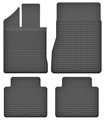 Fußmatten Gummimatten Winter Auto-matten Gummi hoher Rand 4-teilig