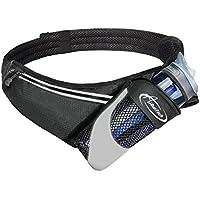 AiRunTech Running Belt with Water Bottle Holder No Bounce Hydration Belts for Runners