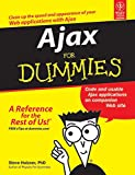 Ajax for Dummies is the introductory title to getting up and running using Ajax. The reader will make their first Ajax application in chapter 1, then move on to the nuts and bolts of using Ajax.
