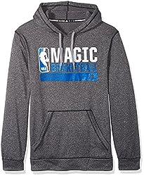 NBA Orlando Magic Icon Status Climawarm Ultimate Hoodie, Medium, Black