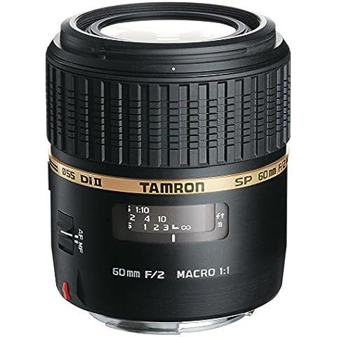 Tamron G005E SP AF 60 mm F/2 Di II LD (IF) MACRO 1:1 - Objetivo para Canon (distancia focal fija 60mm, apertura f/2-2, macro, diámetro: 55mm)