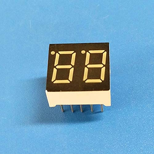 trick es Day, 0,0.36inch 10pins 9.2mm 2Bit Digital Tube Green Common Cathode LED Digit Display ()