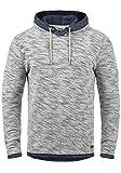 !Solid Flock Herren Kapuzenpullover Hoodie Pullover Mit Kapuze Aus 100% Baumwolle, Größe:XXL, Farbe:Insignia Blue (1991)