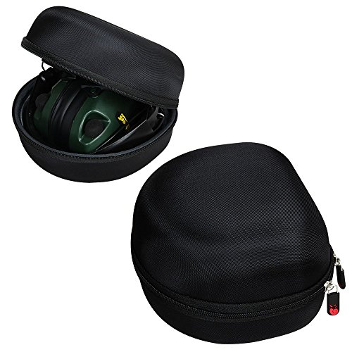 Für Caldwell Low Profile E-Max Electronic Ear Muffs Tasche Schutz hülle Etui Tragetasche Beutel von Hermitshell