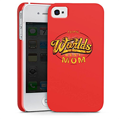 Apple iPhone X Silikon Hülle Case Schutzhülle Worlds Best Mom Muttertag Mama Premium Case glänzend