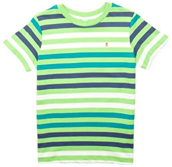 ESPRIT 063EE8K002 Patterned Boy's T-Shirt Frog Green  6-7 Years