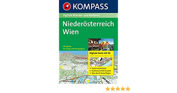 Karte Wien Niederosterreich.Niederosterreich Wien 3d Digitale Wander Und Radkarte