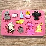 Banggood.com/Silikon-Katzen-Form-Kuchen-Kuchen-Kuchen-Kuchendekorations-Werkzeug, p-929580html Silikon-Form für Kuchen, Fondant, Kuchendekoration, Werkzeug