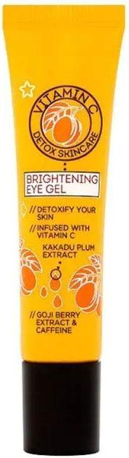 Superdrug S/D Vitamin C Eye Cream 15ml, Clear, 15 Pieces