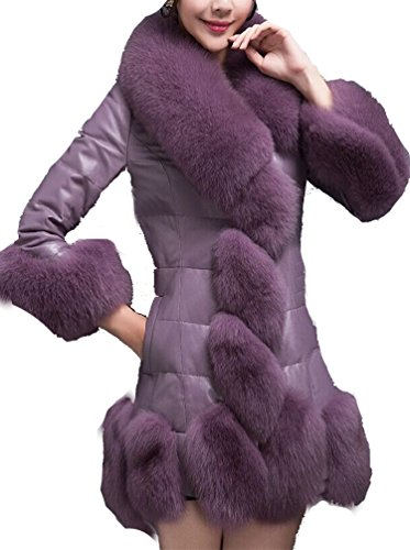helan-womens-luxury-slim-faux-fox-fur-collar-long-coat-purple-uk-16