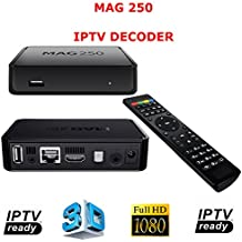 MAG 250 Micro HD IPTV Set Top Box Receptor de TV – El Protocolo de Internet, Genuine Original caja de infomir
