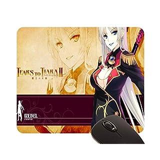 Beautiful Girl Aquaplus Honjou Tatami Izebel To Hinoki Tears Tiara Ii mouse pad (22x18cm)