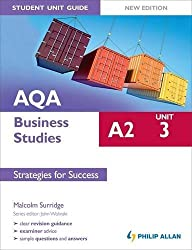AQA A2 Business Studies Student Unit Guide New Edition: Unit 3 Strategies for Success