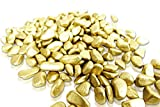 Brynnberg Dekosteine - Dekogranulat Kies Kieselsteine Flußkies gerundet (Gold, 4,5Kg) - 3