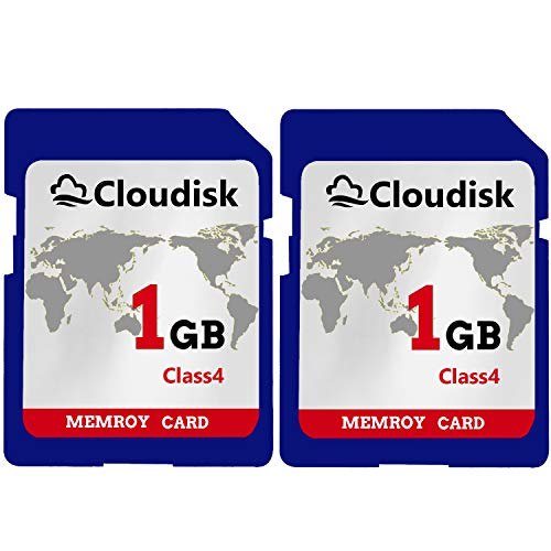 Cloudisk 2X 1GB SD-Karte HD720P Flash-Speicherkarte - 1gb Sd-speicherkarte