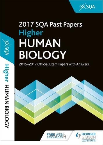 Higher Human Biology 2017-18 SQA Past Papers with Answers