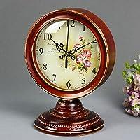 Retro Style in massello l'orologio Sweep secondi Movimento Muto legno Orologio a pendolo