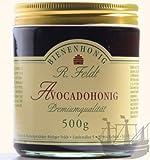 Avocado Honig, dunkel, flüssig, leichtes Pflaumenaroma, 500g