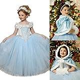 UK1stChoice-Zone Buena Calidad Diseño más reciente Princesa Disfraz Traje Parte Las Niñas Vestido DRESS-CNDR (3-4 años, DRSS-CND1)